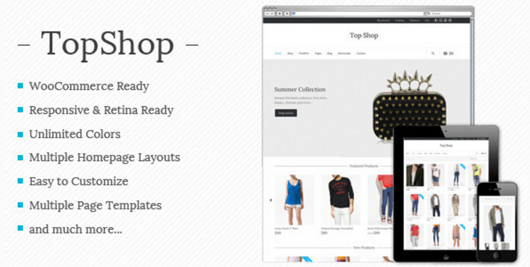 Top Shop - Multi-purpose WooCommerce theme