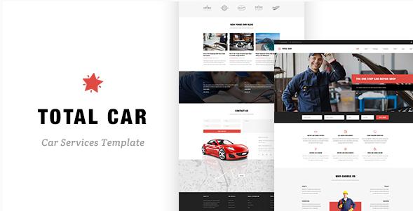 Total Car - Auto Mechanic & Car Repair Template