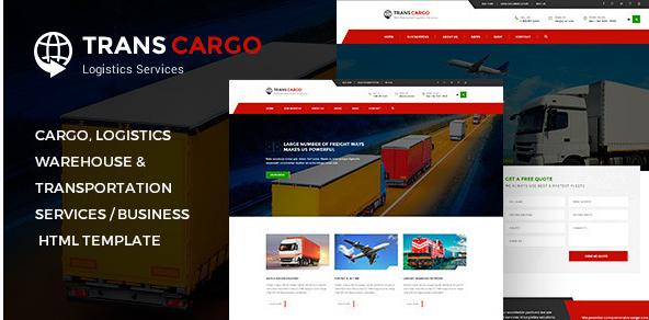 TransCargo - Transport & Logistics HTML Template
