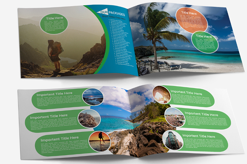 Best Landscape Printable Brochure Templates