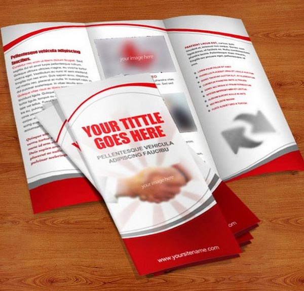 Trifold Brochures psd