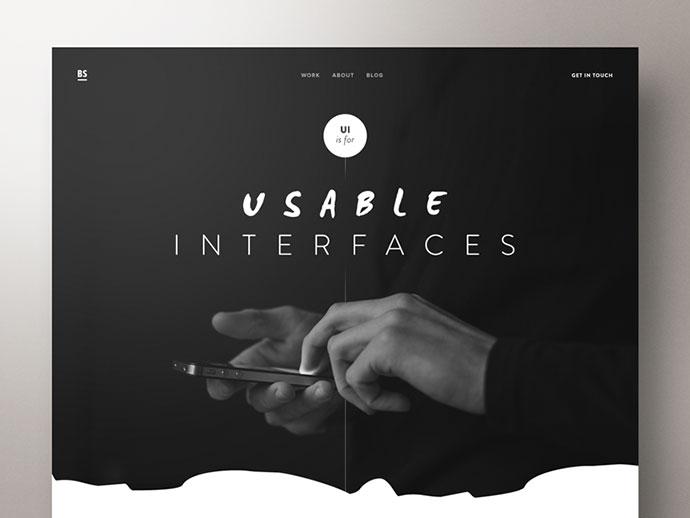 UI Designer Portfolio by Ben Schade