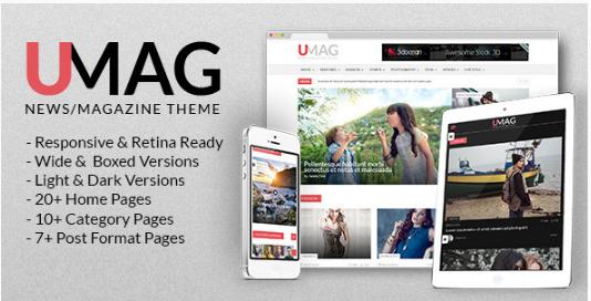 UMag - Responsive Drupal News Magazine Theme