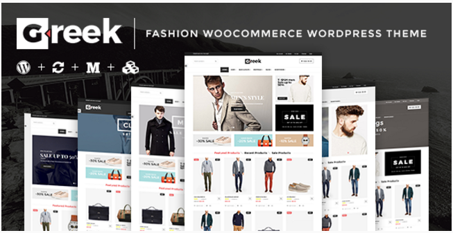 VG Greek - Fashion WordPress Themes