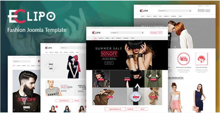 Vina Eclipo - Fashion VirtueMart Joomla Template