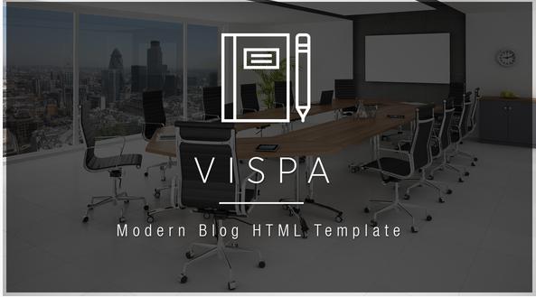 Vispa - Business Blog HTML Template