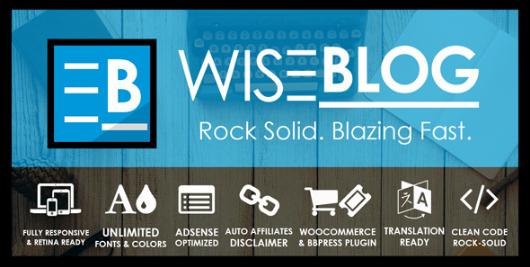 WISE Adsense Optimized WordPress Themes