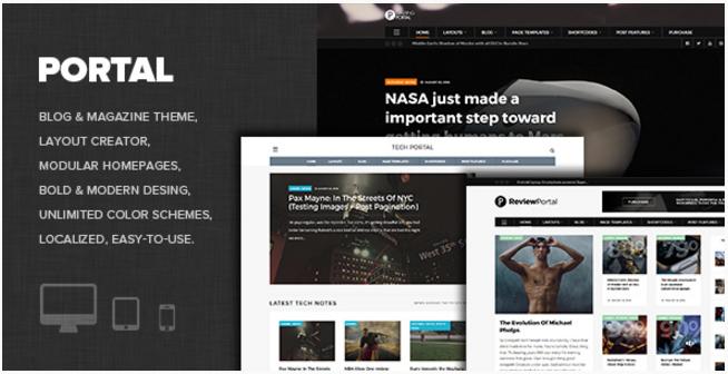 WP Portal - Review, Gaming, Technology and Viral WordPress theme