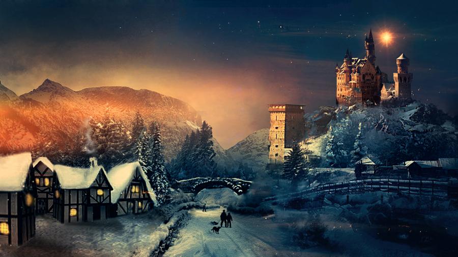 Winter-Christmas-Wallpaper