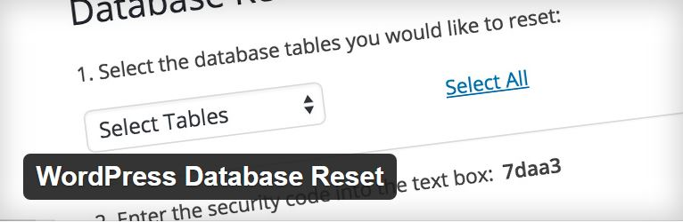 WordPress-Database-Reset