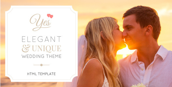 Yes - Ultimate Responsive OnePage Wedding Template