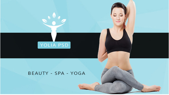Yolia - Beauty PSD Template