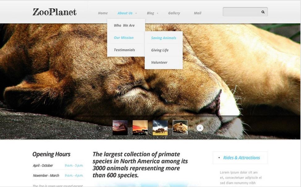 Zoo Drupal Template