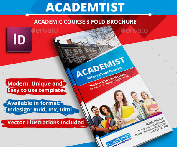 academic-course-brochure
