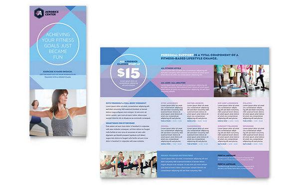 aerobics-course-brochure