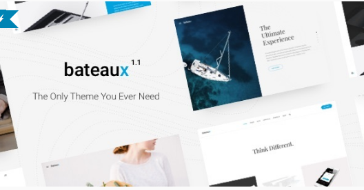 bateux WordPress Themes For Designers