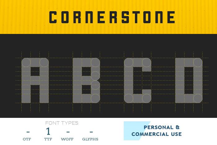 cornerstone-modular-font