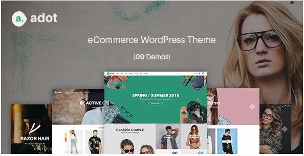 eCommerce WordPress Theme - adot