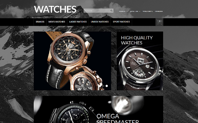 Cool Prestashop Online Watches Store