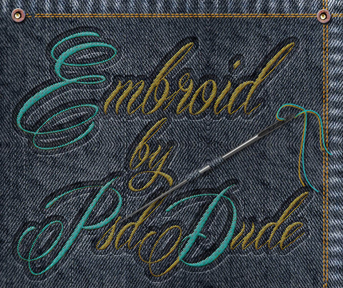 embroidery-effect