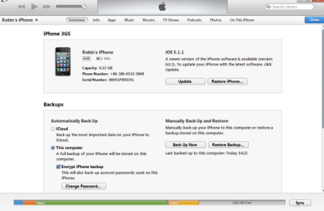 How to Backup iPhone Using iTunes or iCloud