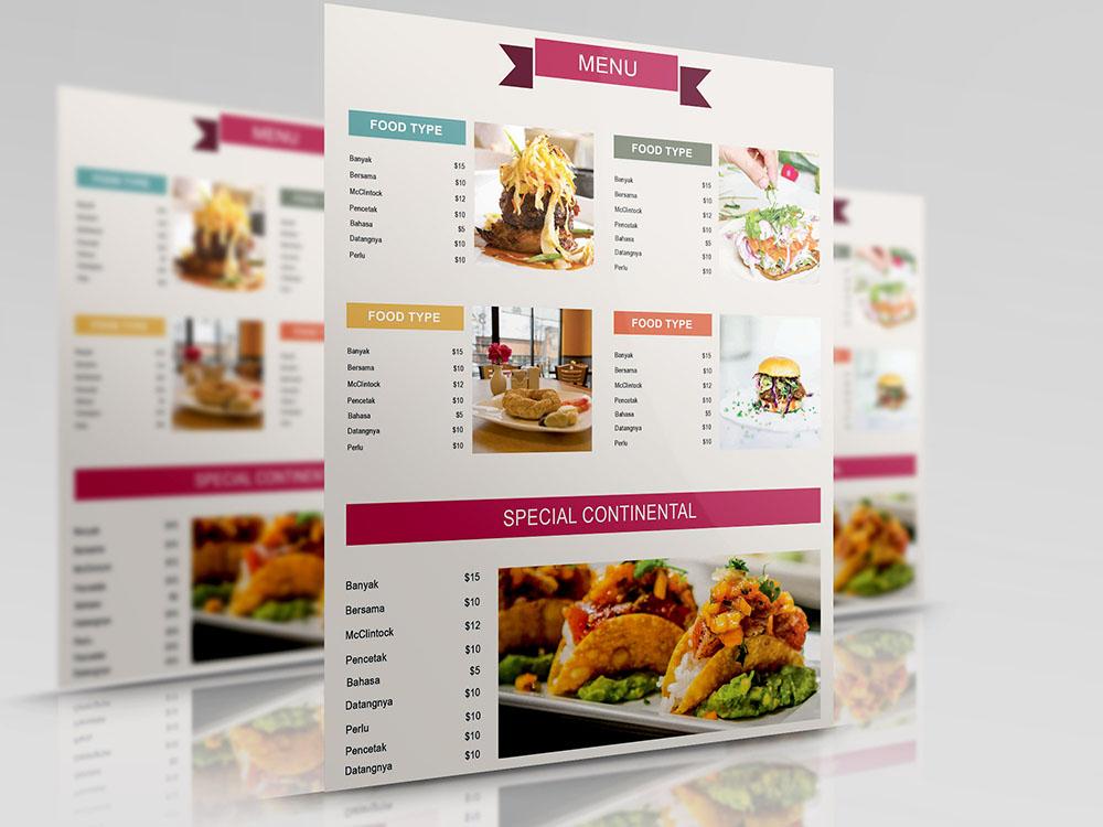 free-seafood-menu-template