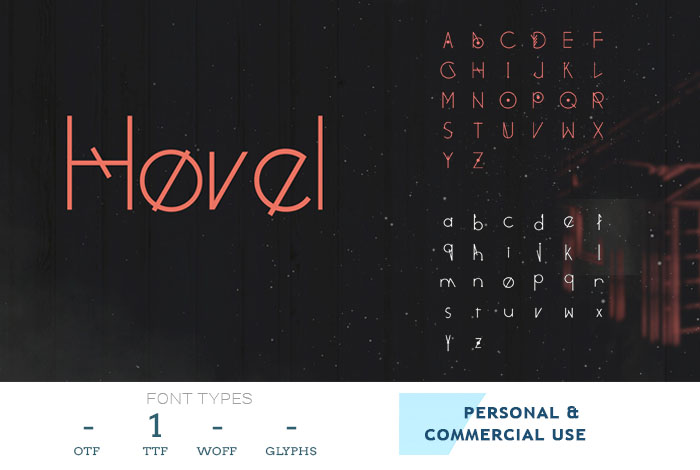 hovel-modern-business-font