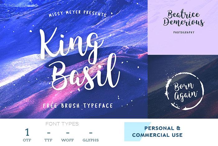 king-basil-good-logo-font