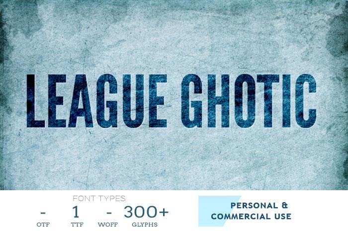 league-font