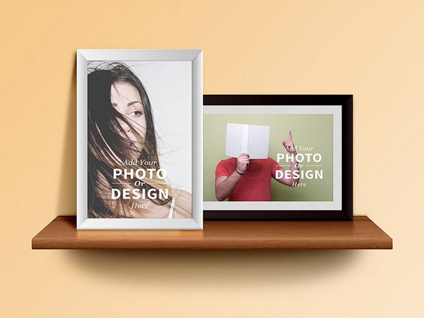 photo-frame-shelf-psd