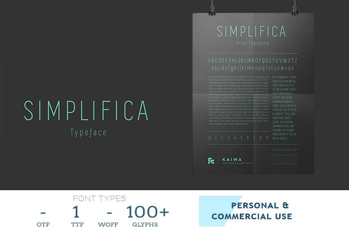 simplifica-flyer-font