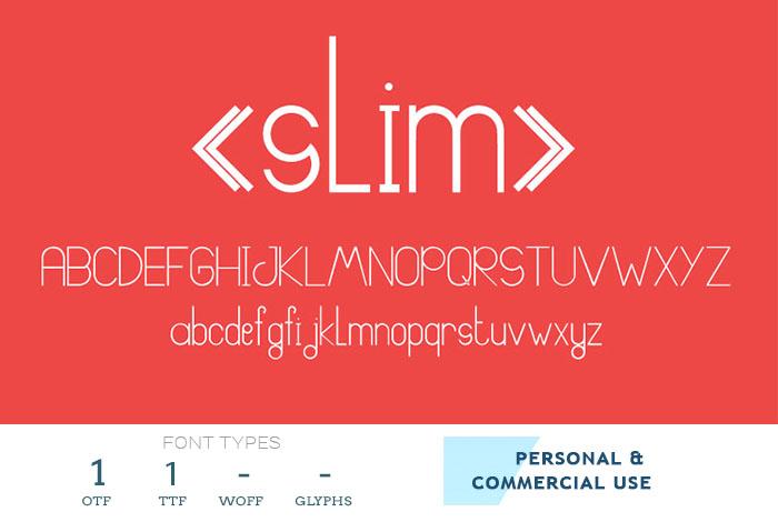 slim-font