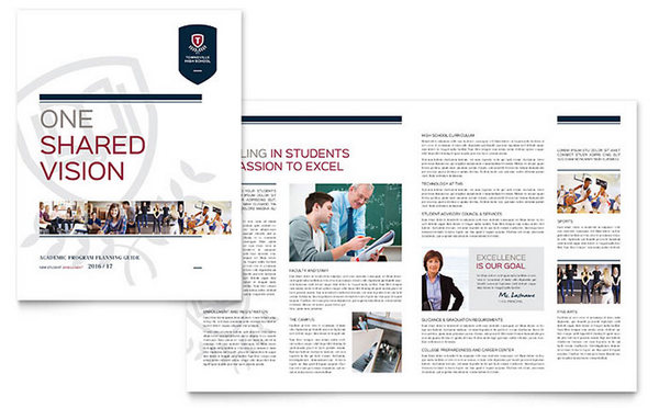 student-course-brochure