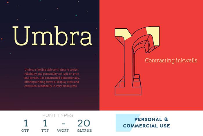 umbra-best-web-font
