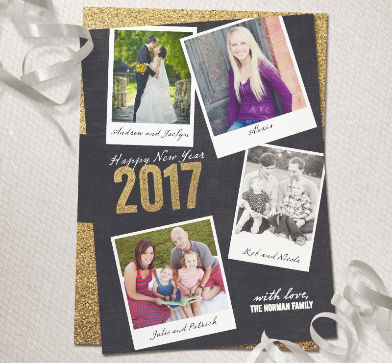 2017-Glitter-New-Year-Photo-Card