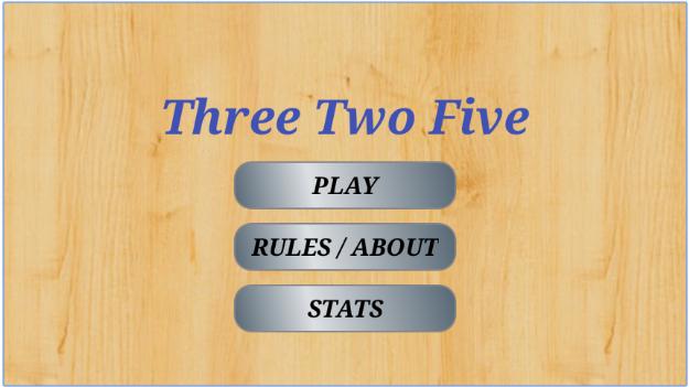 3 2 5 card game