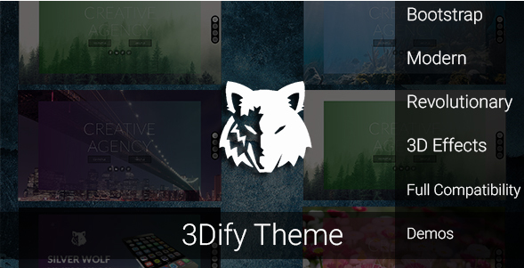 3Dify - Responsive and Modern Creative HTML Template