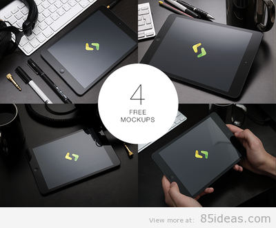 Best Free iPad PSD Mockup Designs