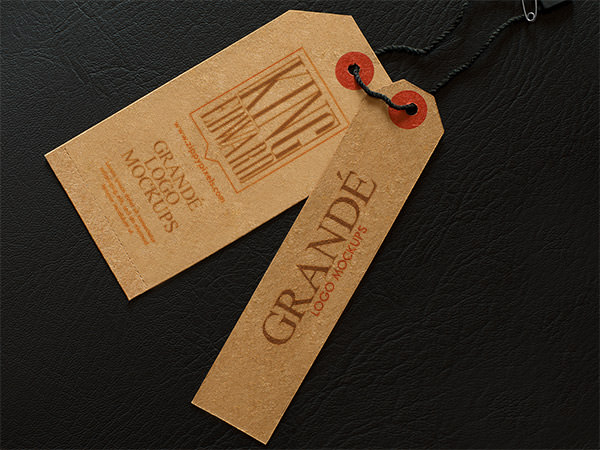 7 Free PSD Branding Label Mockups