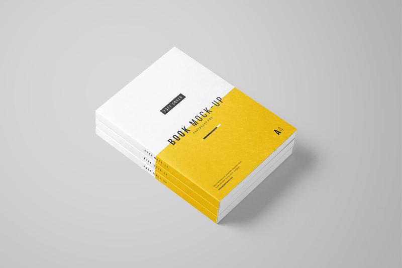 8-Free-Book-Mockups