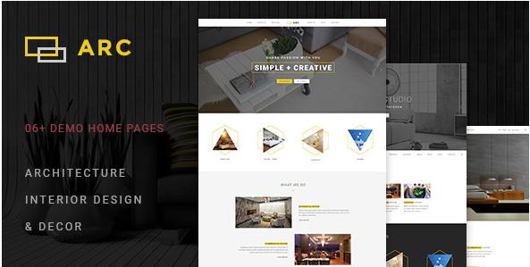 ARC - Interior Design HTML Website Templates