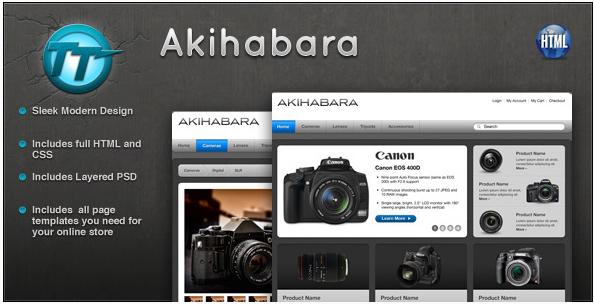 Akihabara eCommerce HTML Theme