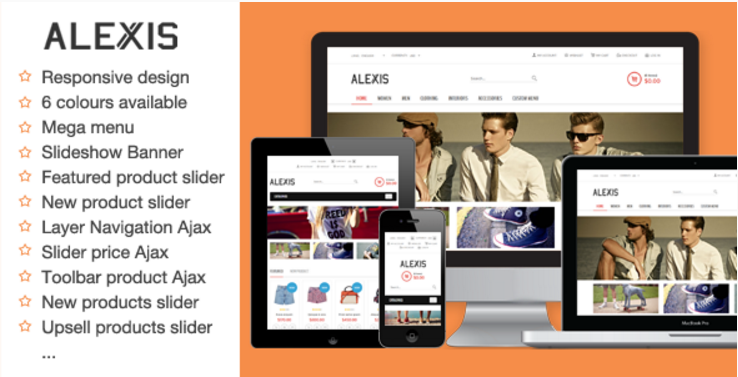 Alexis - Fashion Responsive Magento Theme