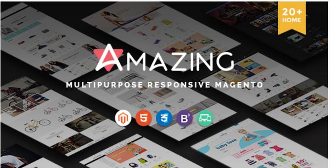 Amazing 20+ Unique Designs & Responsive Premium Multipurpose Magento eCommerce Themes New 2016