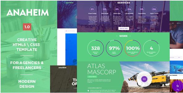 Anaheim Creative HTML Template