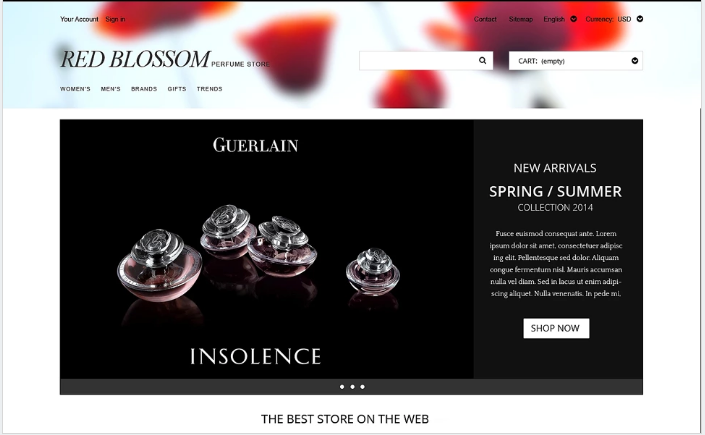 Any Taste Fragrance PrestaShop Theme