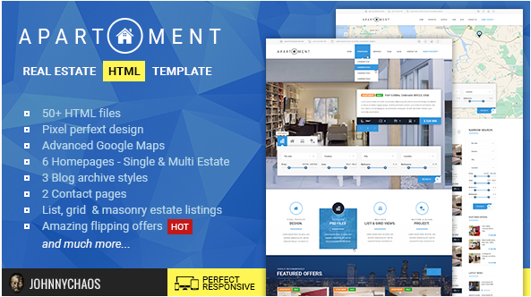 Apartment HTML - Real Estate Multi Single Property