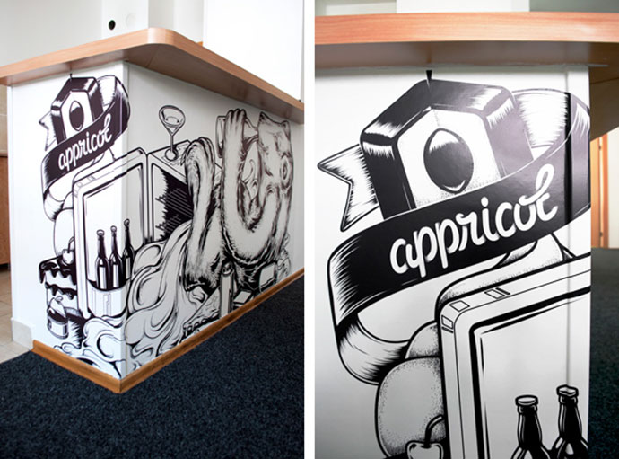 Appricot Office Walls