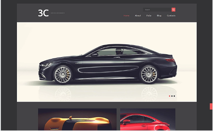 Auto Enthusiasts Club Joomla Template
