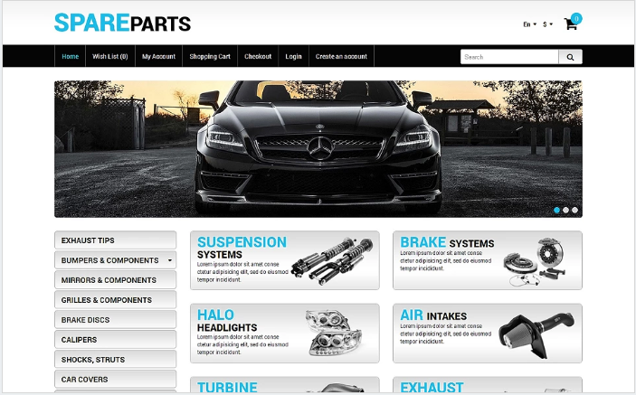 Best Automobile OpenCart Themes